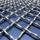 Acoplamiento de alambre cuadrado prensado galvanizado superior del acero inoxidable de la armadura llana de China