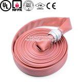 Precio durable del tubo del PVC del manguito flexible de la regadera del fuego de la lona de 1 pulgada