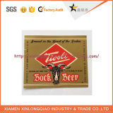 Une étiquette personnalisée de l'impression papier imperméable en plastique bouteille de bière autocollant imprimé
