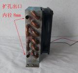 Воздух Purswave Cp3X6X120 - охлаженная миниая спичка испарителя теплообменного аппарата конденсатора вентиляторной системы охлаждения конденсатора с вентилятором 120X120mm 12V 24V 220V