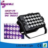 24PCS*15W de LEIDENE van het PARI Verlichting van het Stadium voor Disco DJ (hl-028)