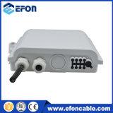 쪼개는 도구를 가진 통신망 광섬유 Disturition 상자 8 광섬유 끝 상자