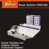 Tarjeta de papel fotográfico de imágenes Material laminado bebé boda Photo Album Maker que hace la máquina del PMS18A