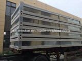 Niedrige Lohn-einfache Installations-modulares vorfabriziertes/bewegliches vorfabrizierthaus