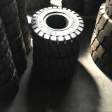 변죽 & 구멍을%s 가진 최상 6.50-10 단단한 타이어