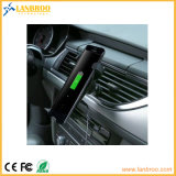 車の風防ガラスの1匹のホーム無線充電器に付き無線充電器の立場2匹