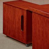 Tabela executiva da saliência de madeira do MDF da mobília de escritório da cor da cereja/mesa