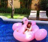 주문 사랑스러운 동물성 모양 홍학 아이들과 성인 의 PVC 수영풀 부유물을%s 팽창식 수영 반지