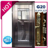 La sécurité porte en acier inoxydable avec garniture de vitrage en SUS304 (ES-7019)