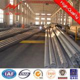 potencia poste de acero poligonal galvanizada 35kv