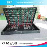 Melhor qualidade P6mm SMD2727 publicidade exterior Visor LED de Serviço Dianteiro