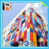 El panel de pared exterior resistente a prueba de agua ya prueba de fuego de colores UV (EL-17)