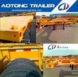 2 de Semi Aanhangwagen van de Chassis van de Container van de as 20FT met Lage Prijs