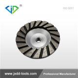ターボコップの具体的な粉砕のためのアルミニウムコップの車輪