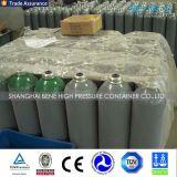 Cilindro sem emenda de alta pressão do aço do oxigênio do acetileno do nitrogênio do argônio do CO2 20L