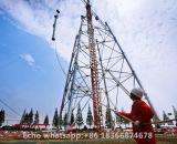 Tipo petroquímico torre de la antorcha de la estructura de acero