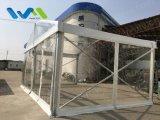 Tente extérieure d'usager d'événement de toit arquée par mur imperméable à l'eau de Tranparent grande