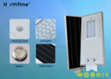 18W Solar Energy All-in-one LED Street Lamp with Solar Panel