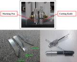 Calzado automático el patrón de plotter de corte de lámina de plástico