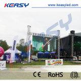P4.8 alquiler al aire libre LED que hace publicidad de la pantalla para el acontecimiento de la etapa