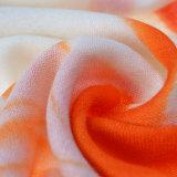 wasserlöslicher Wolle-Schal des Lack-100%Hand