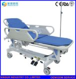 Медицинское оборудование электрический с чрезвычайной Guardrail больницы транспорта носилок