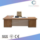 Classical Furniture L Shape Wooden Office Counts with Credenza (CAS-MD18A13)