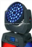 段階の軽い36X10Wクリー族LEDのズームレンズの移動ヘッドライト