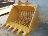 幼虫の小松日立Kobelco KatoヒュンダイDeawooのローダーのための掘削機のバケツ