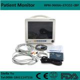 12.1-duim de Geduldige Monitor van de Multiparameter (ECG, NIBP, SpO2, Temperaturen, Resp, u, dubbel-IBP, ETCO2) - Stella