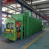 Les produits en caoutchouc de moulage par compression durcissement vulcanisation Appuyez sur la machine hydraulique