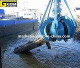 Dos mecánicos de cuerda atado con alambre cáscara de naranja Puerto Grab