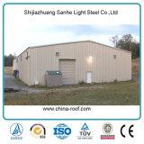 El almacenaje ligero prefabricado del grano del almacén del metal vertió para la agricultura