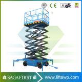9m Scissor hydraulischer beweglicher Plattform-Aufzug des Aufzug-1000kg