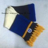 Шлем & шарф способа 100%Acrylic с сплетенной заплатой для клуба футбола (JYB358)