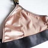 2018 Valentines Day Ladies Silk Feeling Bralette Set