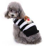 編まれる犬のセーターペット冬は暖かいに着せる