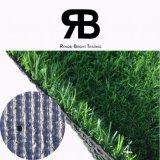 hierba artificial sintetizada del campo del césped de la decoración del paisaje 3/8inch de 20-35m m para el hogar del jardín