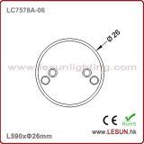 Indicatore luminoso /Fluorescent LC7578A-06 chiaro del tubo di alta qualità 10W 600mm LED T8