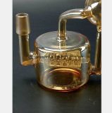 Reprise en verre jaune transparente de filtre de canon de jet d'eau