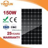 150W Painel Solar para sistemas solares fotovoltaicos