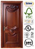 Festes Partical Board/MDF hölzernes Tür-Schwerpunktshandbuch Trada Ceritified Innen-/Außenraum-Tür