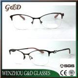 Het nieuwe Optische Frame Eyewear van het Oogglas van de Vrouwen van de Glazen van het Metaal Model