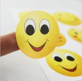 Stickers van het Etiket van de douane de Ronde met Afgedrukt Embleem