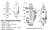 Het mechanische Spoelende Systeem van de Verbinding, de Tank van de Verbinding, Vloeibare Barrière