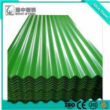 Strato delle mattonelle di tetto di PPGI/tetto di colore/lamiera di acciaio ondulata preverniciata