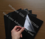 hoja auta-adhesivo rígida del PVC de 0.5m m para el álbum de foto