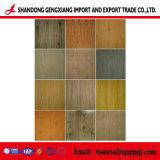 군 색깔 나무로 되는 곡물 Prepainted PPGI 강철판