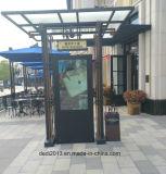 65pulgadas LCD en el exterior de la pantalla LCD Quiosco de publicidad