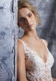 Vestido de casamento nupcial do vestido de esfera da sereia da forma